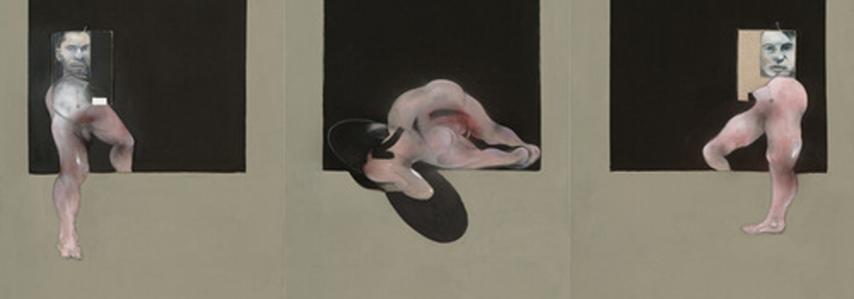 Triptych(1991) - Francis Bacon (British, born Ireland. 1909–1992)