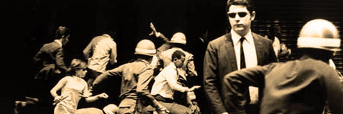 Repressão militar contra manisfetantes em defesa da democracia - 1964