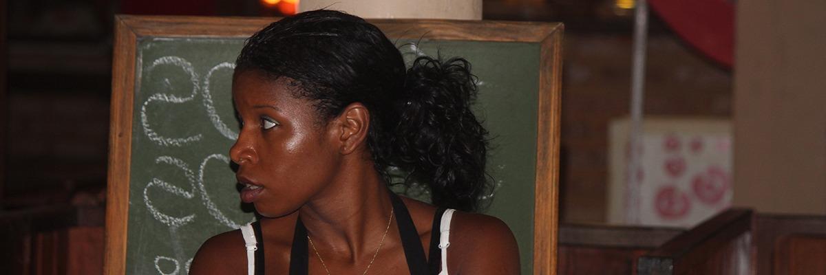 A beleza negra da mulher baiana – Rua Caminho da Praia, Morro de São Paulo – Foto J.Rego