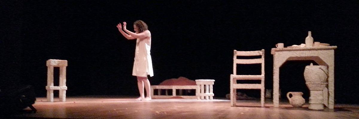 Cerona Pontes interpreta Camilla Claudel ? Foto J. Rego