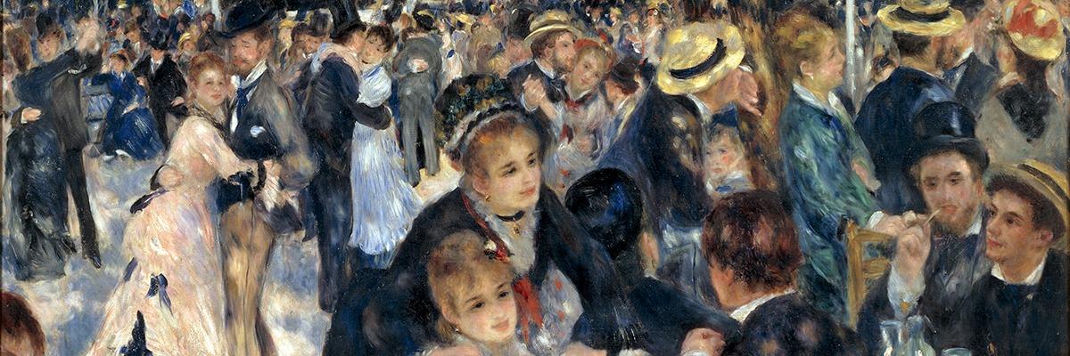 Pierre-Auguste Renoir, Le Moulin de la Galette (1876).
