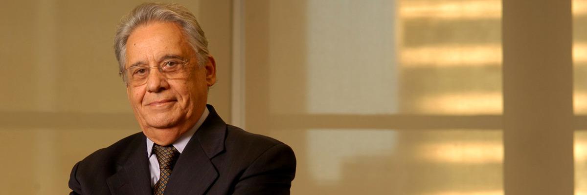 Fernando Henrique Cardoso, sociólogo e ex-presidente do Brasil.