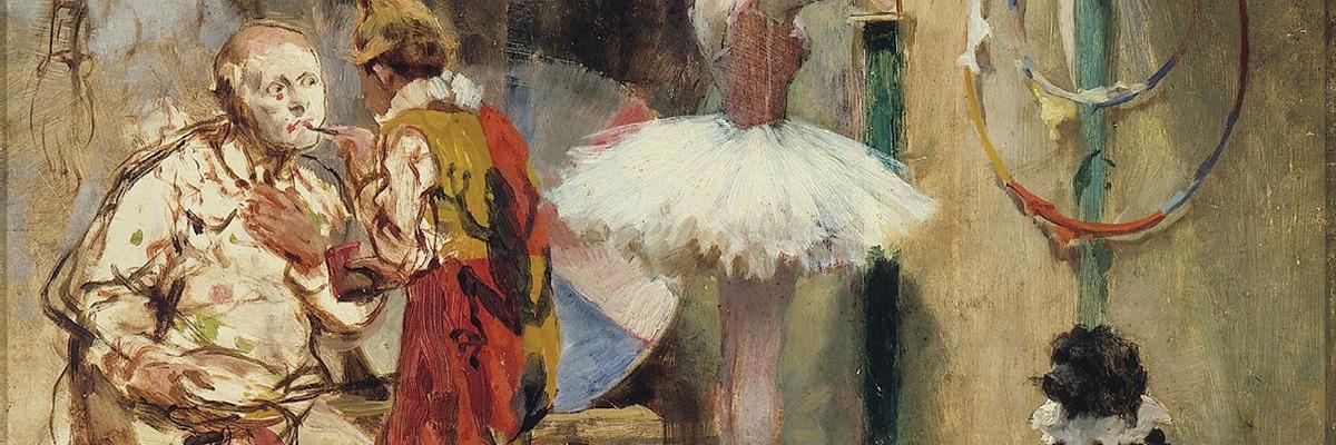 Escenas del Circo, 1891 de Arturo Michelena.