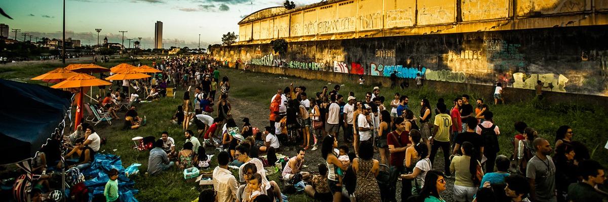 Ocupação, por cidadãos militantes da área do Cais José Estelita. #OcupeEstelita