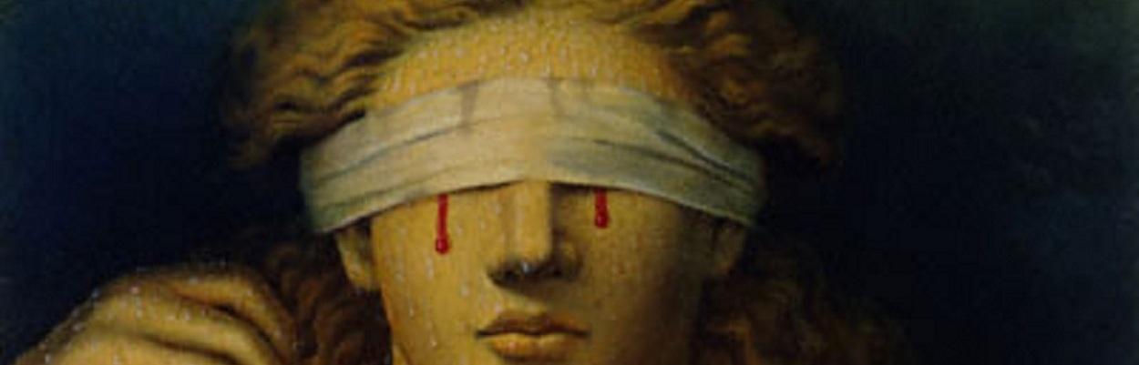 """""""Blind Justice"""" Kinuko Craft (1980)"""
