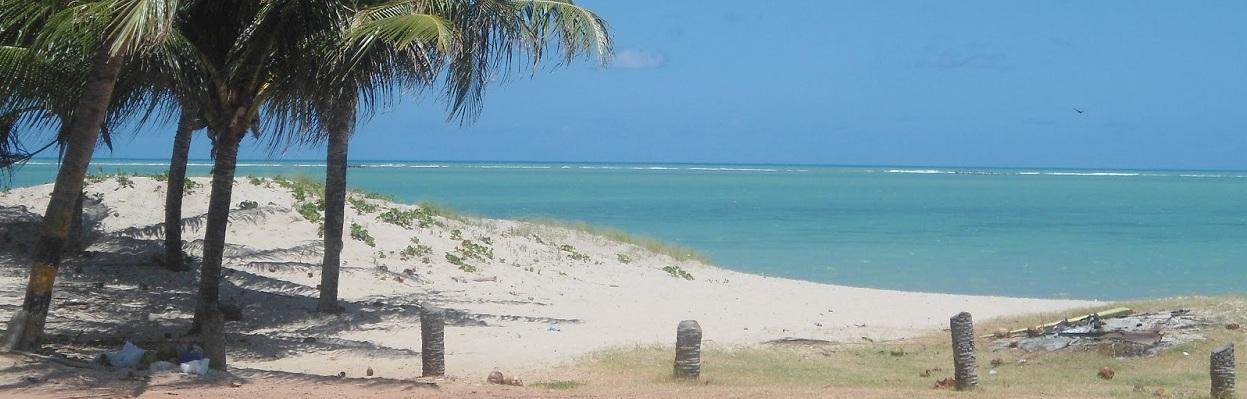 Praia Formosa, Cabedelo - PB.