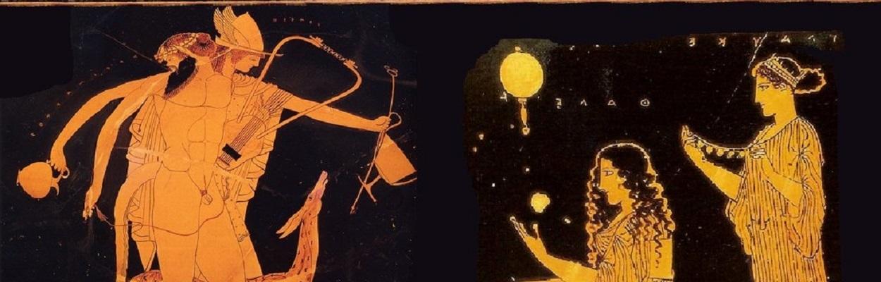 Dever ou fazer amor – Família na Grécia antiga em preparativos para a atividade sexual.