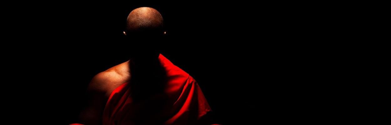 Monk Meditation - autor desconhecido.