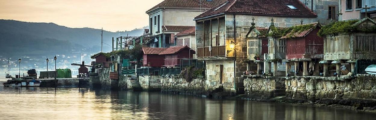 Combarro Pontevedra Galicia Spain is a photograph by Pablo Avanzini.