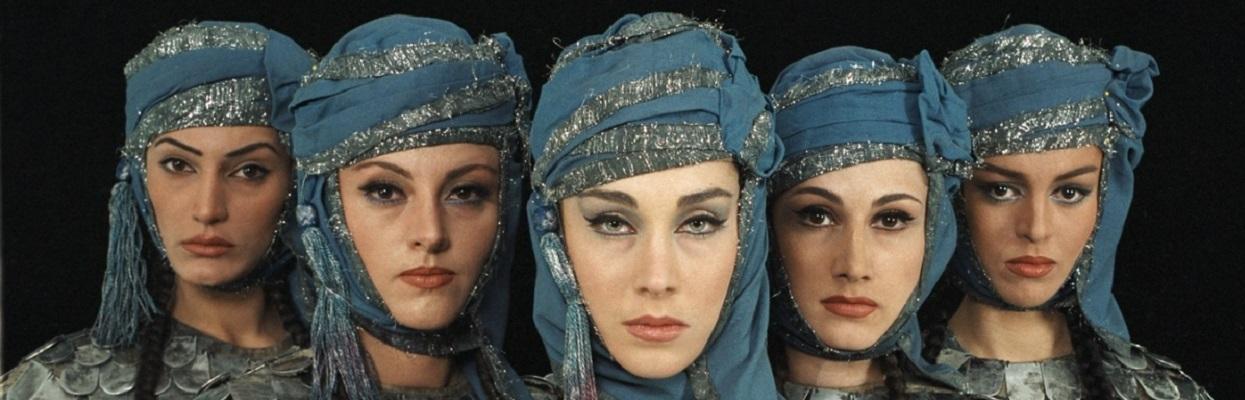 Women - Traditional Costume in Georgia.