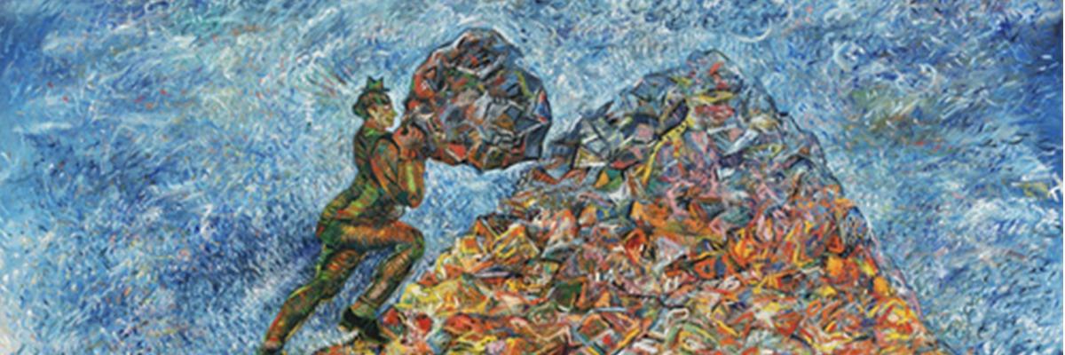 The Idleness of Sisyphus Sandro Chia (Italian, born 1946) ? Acervo MOMA