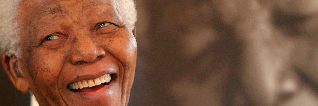 Nelson Mandela, um dos maiores estadistas do século XX.