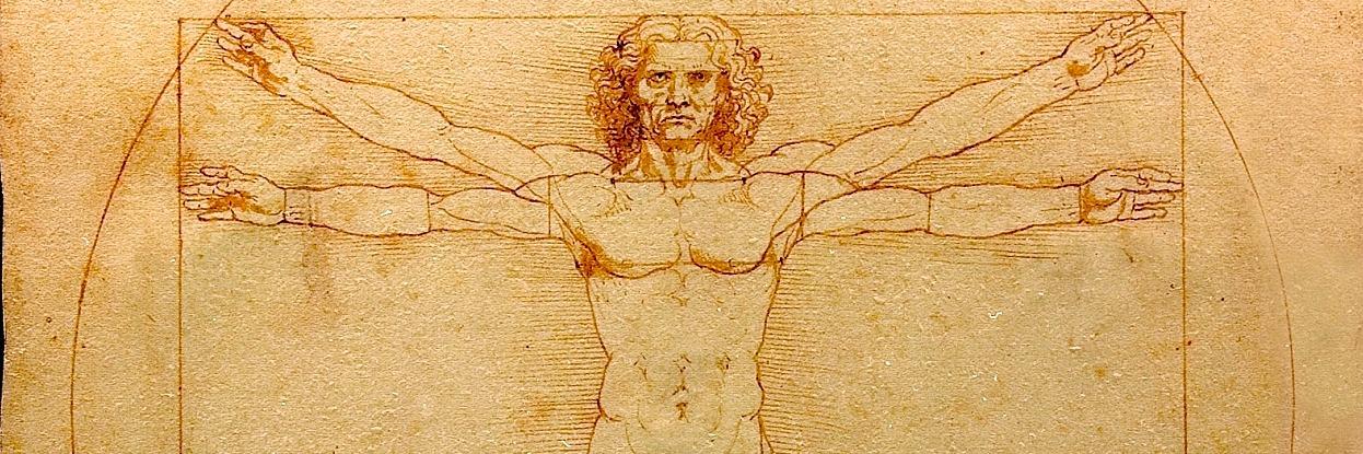 The Vitruvian men - 1490 Leonardo da Vinci