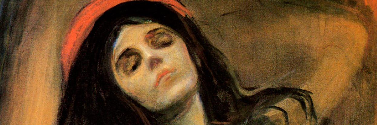 Madona - Edward Munch ( 1895).