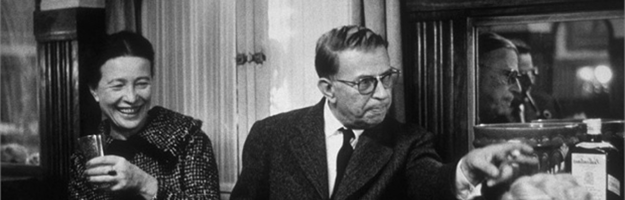 Simone de Beauvoir e Jean-Paul Sartre 1959.