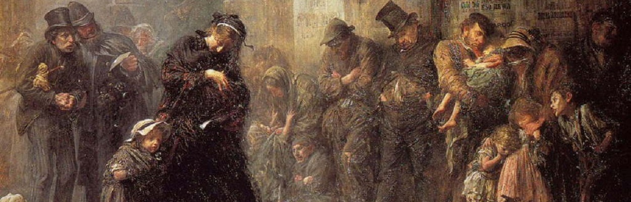 Applicants for Admission to a Casual Ward, by Luke Fildes 1874.