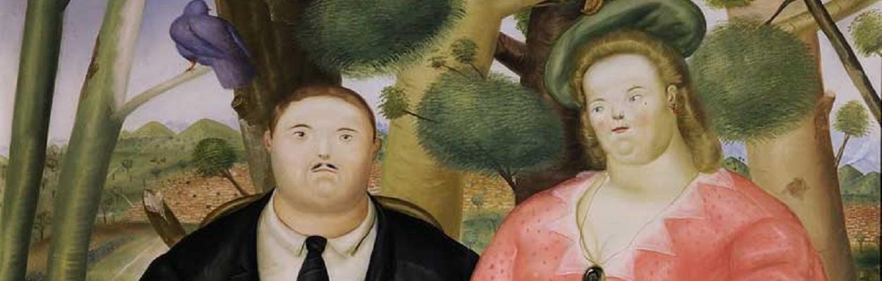 A Family - Fernando Botero.